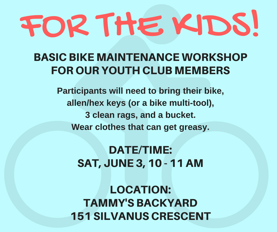 Bike Maintenance for the Kids